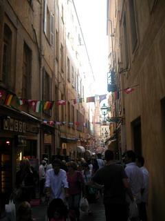 Il centro di Sanremo