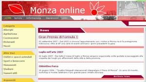 homepage sito monza